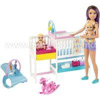 """Barbie GFL38 Набор """"Детская комната"""" из серии """"Уход за малышами"""""""