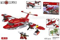 Color Baby 42838 Конструктор Пожарный Самолет 405 деталей
