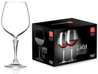 Set pahare pentru vin Glamour 6buc, 800ml