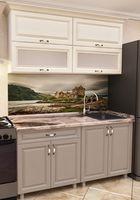 Кухонный гарнитур Bafimob Modern MDF Mini 1.2m Cappucino/Beige