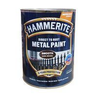 Hammerite Краска для металла Темно-коричневая гладкая 2.5л