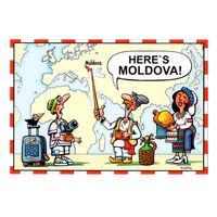 cumpără Magnet de frigider - Here's Moldova în Chișinău