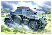 48191 Sd.Kfz.222, герман. легкий бронеавтомобиль
