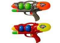 Пистолет водяной с насосом, 2 шара, малый