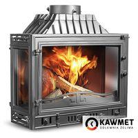 Каминная топка KAWMET W4 14,5 kW трехсторонняя