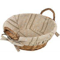 Хлебница плет-я круглая 31х24х14 Kesper 17904