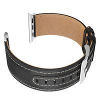 Ремешок Apple Watch Series1/2/3/4(40mm), Leather, Hoco Black