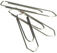 DELI Скрепки DELI Essentials, пирамидальные, 28 мм, 100 штук