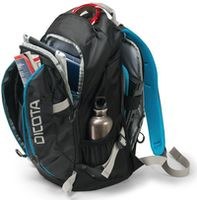"Dicota D31047 Backpack Active black/blue 14""-15.6"""