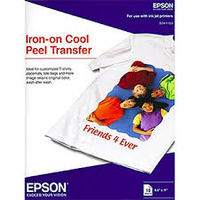 A4 10p Epson Iron-on Peel Transfer Paper
