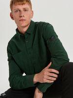Рубашка CROPP Зеленый