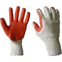 Перчатки трикотажные облитые устойчивым перфорированным каучуком, устойчивые на притирание и прорез Арт. 412