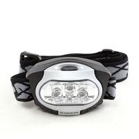 Фонарь налобный Varta LED x4 Head Light 3AAA, black/grey, 17631 101 421