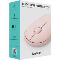 cumpără Logitech Wireless Mouse Pebble M350 Rose, Optical Mouse for Notebooks, 1000 dpi, Nano receiver,  Blue, Retail în Chișinău