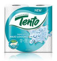 Полотенца бумажные TENTO Maxi / Super Aqua 2 слоя 18м*2