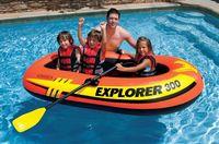 Barcă pneumatică Intex 58332NP Explorer 300 Set