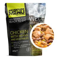 Еда походная Adventure Menu Chicken with beans and vegetables Курица с фасолью и овощами, AM 688