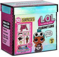 L.O.L Surprise Игровой набор с куклой Серии 3 Furniture