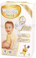 Huggies Elite Soft 4 (8-14 кг.) 19 шт.