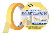 Лента малярная бумажная оранж,19мм/25м HPX 4400 Gold FP1925