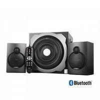 Sistem audio, FENDA, 2x16W+20W, USB, Bluetooth/FM radio, 220-240V, Telecomandă, Negru