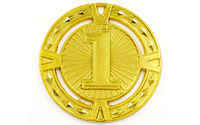 Медаль за 1 место d=6.5 см, 38 гр 6409 (3859)