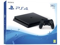Game Console Sony Playstation 4 Slim 1 TB Black + CD Game FIFA18, 1 x Gamepad (Dualshock 4)