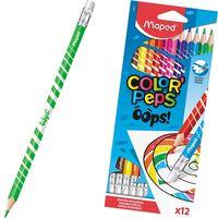 MAPED Карандаши цветные MAPED Erasable, 12 цветов