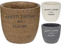 """купить Горшок для цветов """"Grand Jardi"""" D12cm, H12cm, керамика в Кишинёве"""