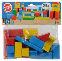 Конструктор разноцветные блоки Eichhorn 25 эл. 25300