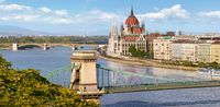 Castorland The View over the Danube, Budapest C-400126