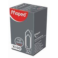 MAPED Скрепки MAPED пирамидальные, 32 мм, 100 штук