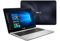 """NB ASUS 15.6"""" X556UR Blue (Core i7-7500U 8Gb 512Gb) 15.6"""" Full HD (1920x1080) Non-glare, Intel Core i7-7500U (2x Core, 2.7GHz - 3.5GHz, 4Mb), 8Gb (Onboard) PC4-17000, 512Gb SATA, GeForce 930MX 2Gb, HDMI, DVD-RW, Gbit Ethernet, 802.11ac, Bluetooth, 1x USB 3.1 Type C, 1x USB 3.0, 1x USB 2.0, Card Reader, Webcam, DOS, 2-cell 38 WHrs Polymer Battery, 2.3kg, Blue/Silver"""