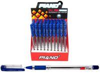 Ручка гелевая PT-111 soft ink 0.7mm, синяя