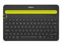 Клавиатура Logitech Bluetooth Multi-Device Keyboard K480 Black