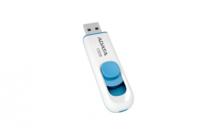 16 ГБ USB 2.0 Флеш-накопитель Adata C008, White/Blue