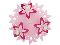 Светильник FLOWERS роз 3л сер-коричн 6895