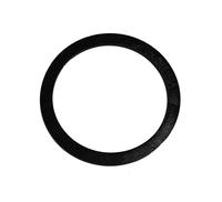 Mâner din lemn, negru / 17 cm