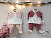 Twetoon Baby  Комплект велюровый 2ед. (штанишки и батник) 118103