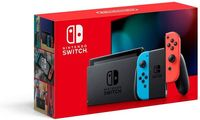 Game Console Nintendo Switch + Neon Red & Neon Blue Joy-Cons