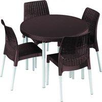 JERSEY Комплект стол со стульями S5