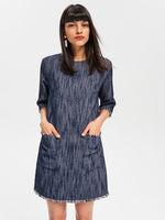Платье RESERVED Темно синий vq486-59m