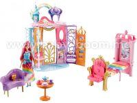 """Barbie FRB15 Набор с куклой Барби """"Дворец Радужной бухты"""" серии """"Дримтопия"""""""