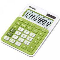 CASIO Калькулятор CASIO MS-20NC, 12-разрядный, зеленый