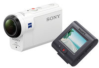 SONY FDR-X3000R + Live-View Remote Kit (RM-LVR3), белый