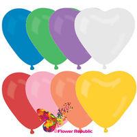 купить Связка гелиевых шаров в форме сердца в Кишинёве