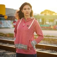 SWEATSHIRT HOODED TREKKING