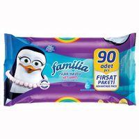 Familia Влажные салфетки, 90 шт