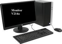 купить HP ProDesk 400 G4 MT lntel® Core® i7-7700 (Quad Core, up to 4.2GHz, 8MB), 8GB DDR4 RAM, 1TB HDD, DVDRW, Intel® HD 630 Graphics, VGA, DP, 180W PSU, USB MS&KB, FreeDOS, Black в Кишинёве