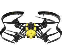 (31021) Parrot Travis - Minidrone, 0.3MP, 60fps vertical camera, figurine, max. 20m/60m-smartphone/flypad radius, flight time 9 min/ 5mps speed, Battery 550 mAh, 54g, Yellow